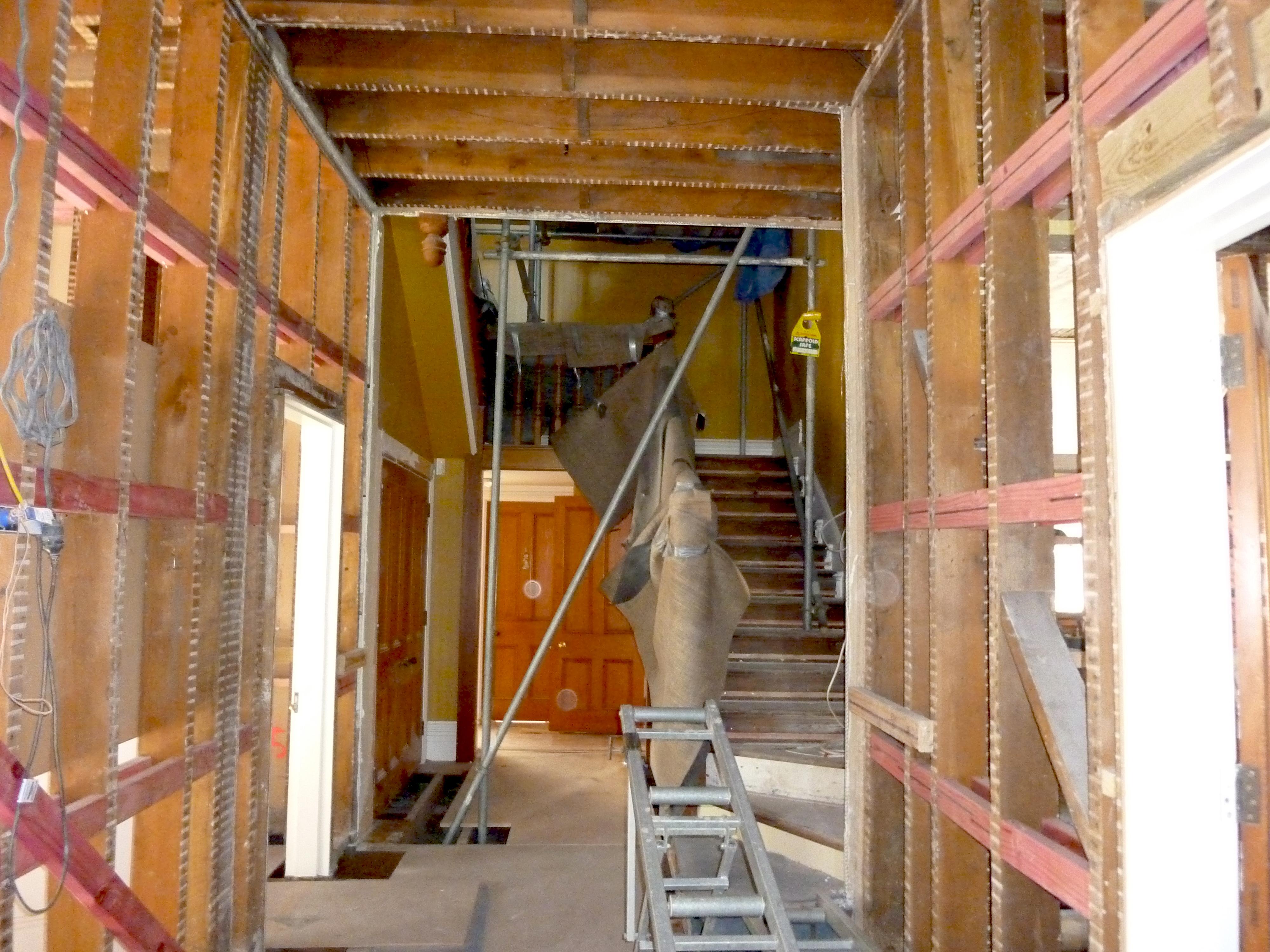 rebuilding property